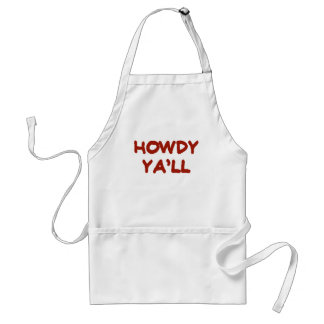HOWDY YALL.png Adult Apron