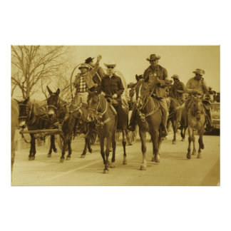 HOWDY YALL TRAILRIDE POSTER PRINT