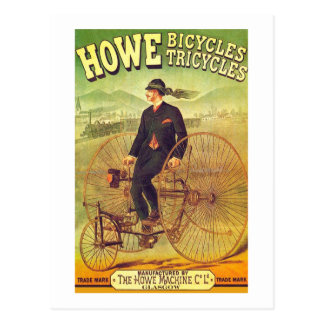 Howe Bicycle Company Postcard