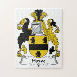 Howe Family Crest Jigsaw Puzzle