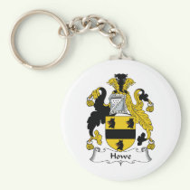 Howe Family Crest Keychain