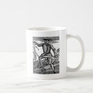Howell Davis Pirate Portrait Coffee Mug
