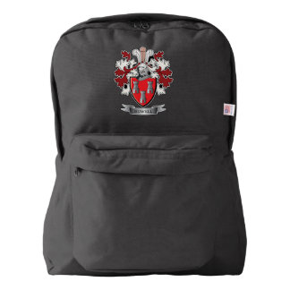 Howell Family Crest Coat of Arms Backpack