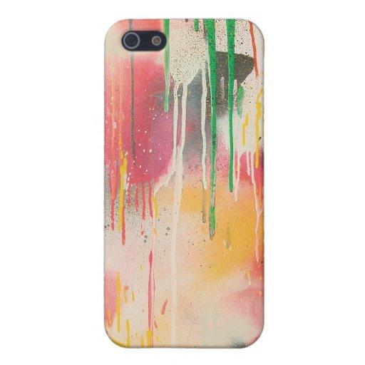 Howell Graffiti Drips iPhone 4 Case
