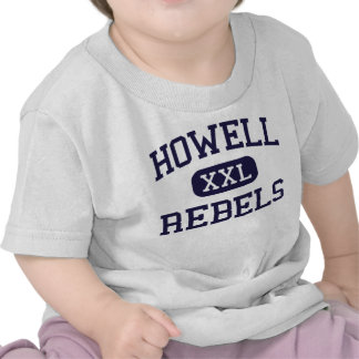 Howell - rebeldes - alto - Farmingdale New Jersey Camiseta