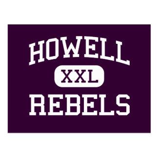 Howell - rebeldes - alto - Farmingdale New Jersey Postales
