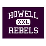 Howell - Rebels - High - Farmingdale New Jersey Postcard