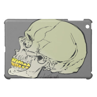 Howell Skull With Gold Fronts iPad Case