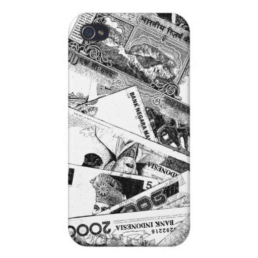 Howell World Money iPhone 4 Case