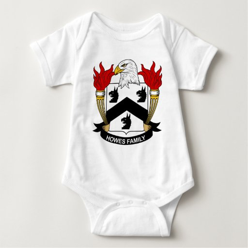 Howes Family Crest Tee Shirts