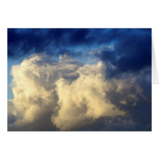 Howgillhounds carda las nubes tarjeta pequeña