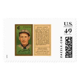 Howie Camnitz piratea el béisbol 1911 Sellos