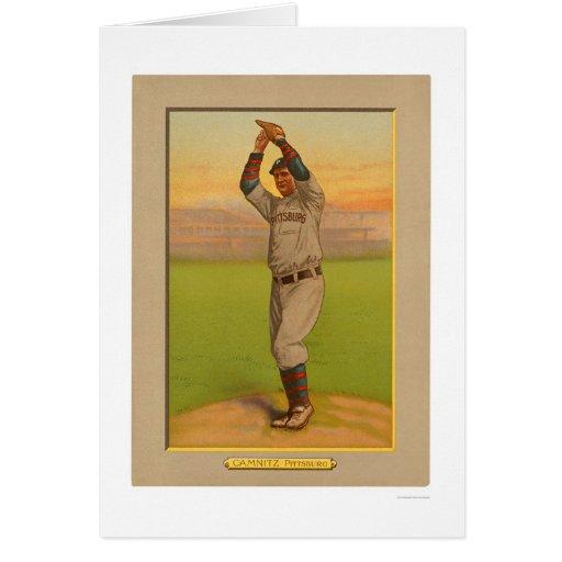 Howie Camnitz Pirates Baseball 1911 Card