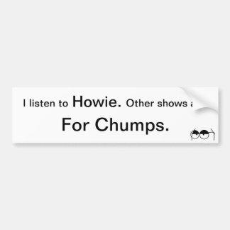 Howie Carr Car Bumper Sticker