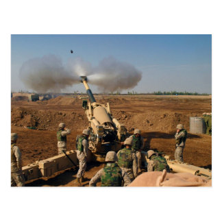 Howitzer Gun Crew United States Marine Corps Post Cards