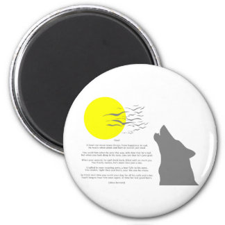 Howl 2 Inch Round Magnet