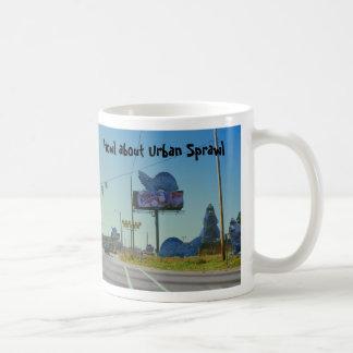 Howl about Urban Sprawl Coffee Mug