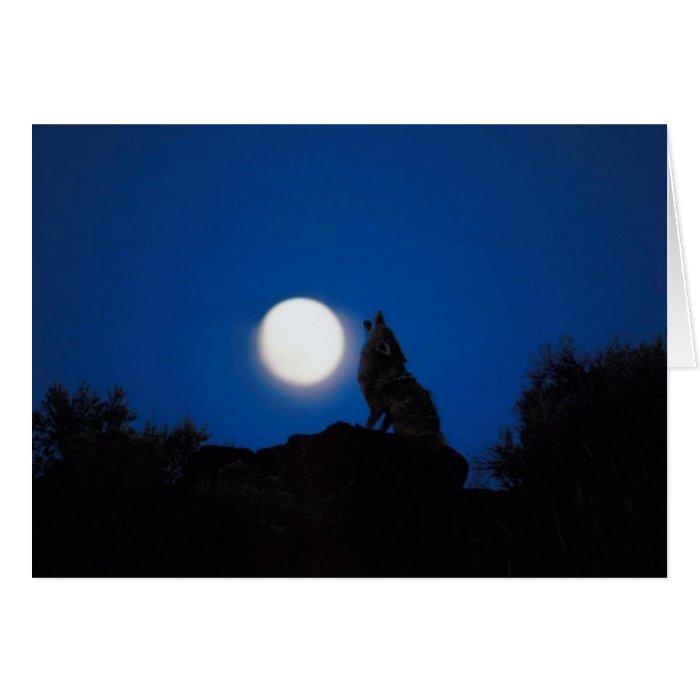 Howl At Full Moon Card