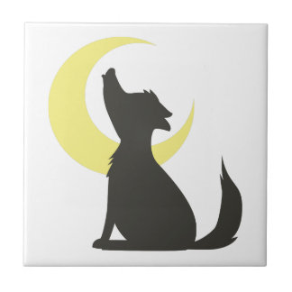 Howl At Moon Tile