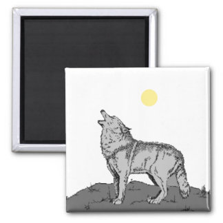 Howl At the Moon 2 Magnet