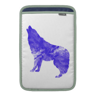 Howl at the Moon MacBook Sleeve