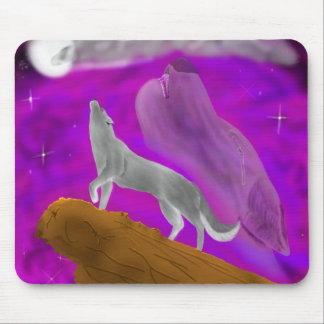 Howl at the Moon Mouse Pad