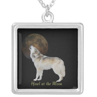 Howl at the moon pendant