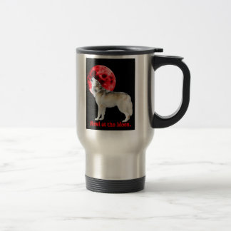 Howl at the red moon coffee mugs