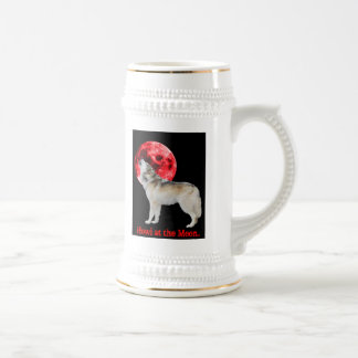 Howl at the red moon mugs