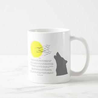 Howl Classic White Coffee Mug