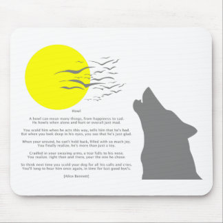 Howl Mouse Pad