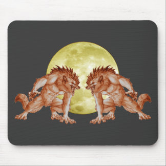 Howl of the Wolf Mouse Mats