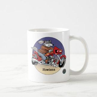 Howlena - los motoristas son taza del © de los ani