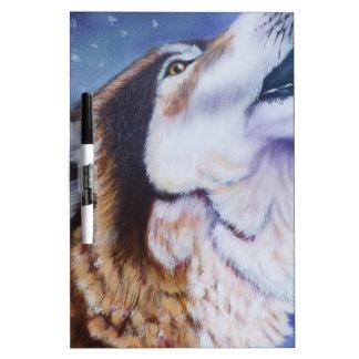 Howler Dry Erase Whiteboard