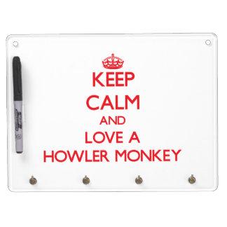 Howler Monkey Dry Erase Whiteboards