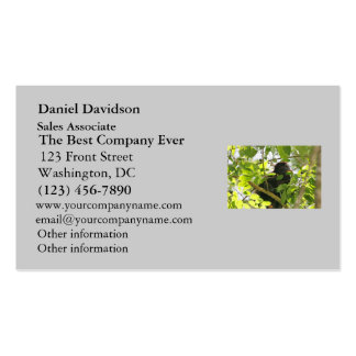 Howler Monkey Eating in the Jungle Business Card Template