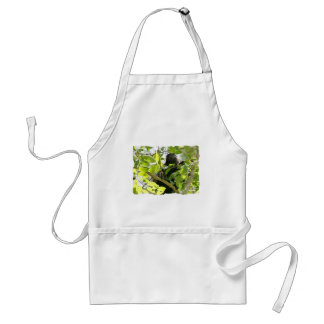 Howler Monkey in the Jungle Photo Adult Apron