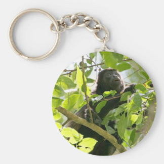 Howler Monkey in the Jungle Photo Keychain