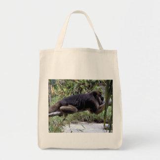 Howler Monkey Organic Grocery Tote