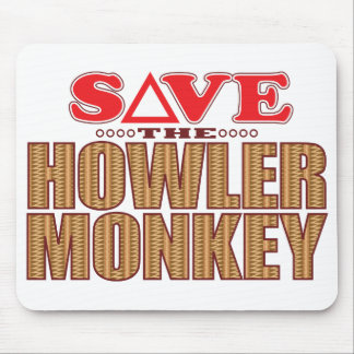 Howler Monkey Save Mouse Pad