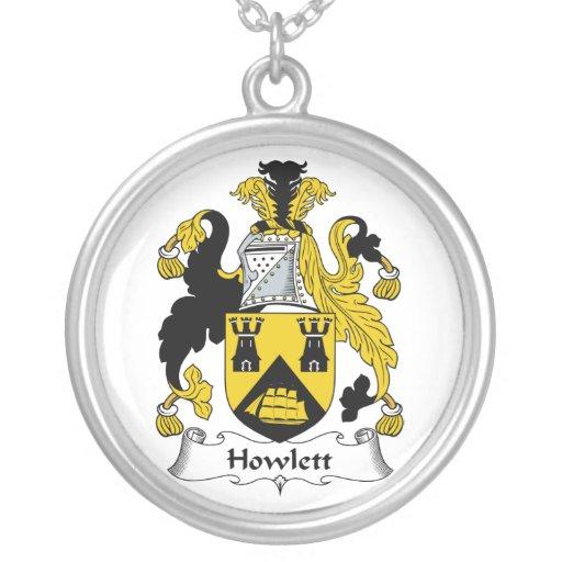 Howlett Family Crest Pendants