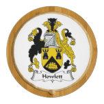 Howlett Family Crest Round Cheeseboard