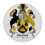 Howlett Family Crest Set Of Poker Chips