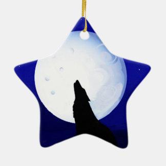 Howlin Coyote - Tucson Arizona Ceramic Ornament