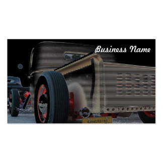 Howlin' Hot Rod Double-Sided Standard Business Cards (Pack Of 100)