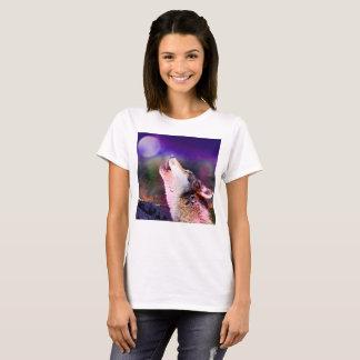 Howlin wolf - moon wolf - head wolf T-Shirt