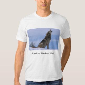 Howling Alaskan Timber Wolf T Shirt