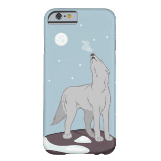 Howling Arctic Wolf Barely There iPhone 6 Case