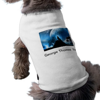 Howling at the Earth Pet Tee Shirt
