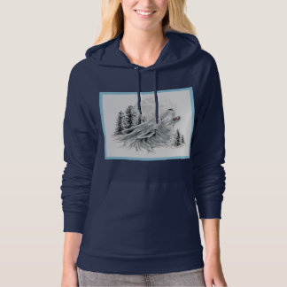 Howling at the Face in the Moon Pullover